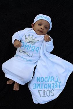 Personalized Baby Boy The Prince Has Arrived