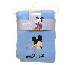 personalized baby mickey mouse blue