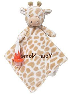 Personalized Carter's Giraffe Cuddle Baby Snuggle Blanky Bla