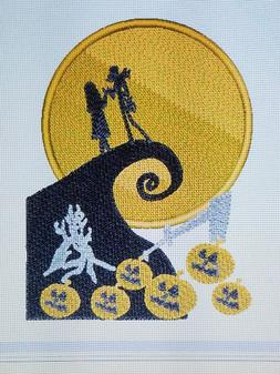 Personalized Embroidery Baby Blanket  Nightmare Before Chris