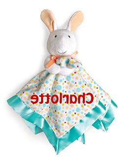 Personalized Pat The Bunny Snuggle Blanky Blanket - 17 Inche