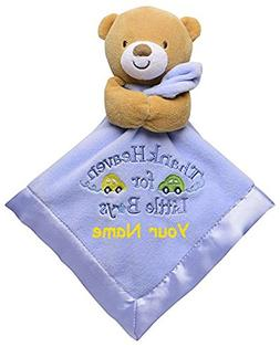 Personalized Baby Starters Thank Heaven For Little Boys Bear