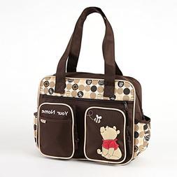 Personalized Disney Winnie the Pooh Baby Duffel Diaper Bag -