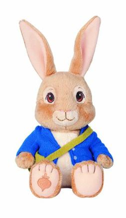 "Nickelodeon 7"" Peter Rabbit Plush Bean Bag Doll Easter Baske"