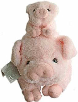"Exceptional Home Pigs Plush Stuffed Animals Set - 18"" Pig wi"