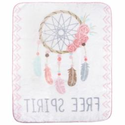 Hudson Baby High Pile Blanket, Dream Catcher, One Size