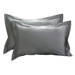 uxcell Pillow Shams Oxford Pillow Cases Egyptian Cotton 300