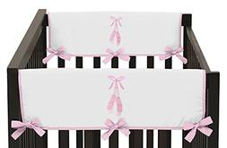 Sweet Jojo Designs Pink Ballerina Ballet Dancer Teething Pro