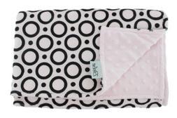 Pink Circles Baby Blanket