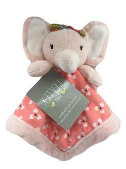 Levtex Baby Pink Elephant Security Blanket