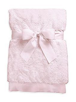 Pink Silky Soft Crib Blanket by Bearington - 197005