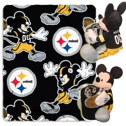 Pittsburgh Steelers Official NFL 40 inch x 50 inch Disney Hu