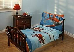 Disney Planes Let's Soar Toddler Bedding Set Comforter Quilt
