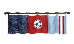 Play Ball Window Valance by NoJo