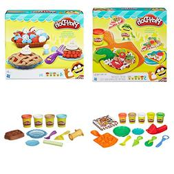 Exclusive Play Doh Pizza and Pie 2 Pack Set