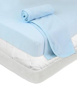 American Baby Company Playard Bundle Mattress Pad Fitted She