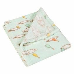 Trend Lab Plush Baby Blanket, Multi Dr. Seuss Oh The Places