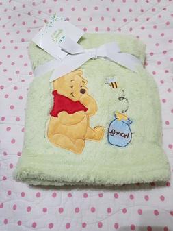 Plush Baby Blanket Disney Winnie the Pooh
