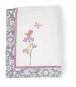 Just Born Plush Blanket, Pink