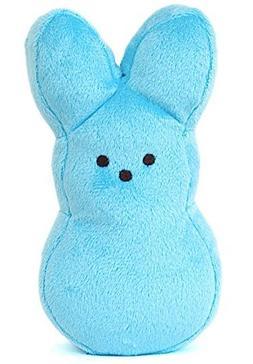 "Peeps Plush Bunny - 9"" Blue"