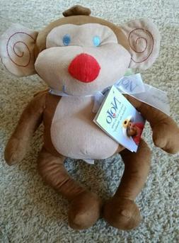 Nojo Plush Jungle Babies Milton The Monkey Stuffed Animal So