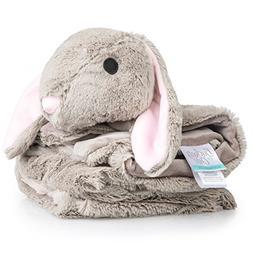 "Buckets of Cute | Plush Luxury Baby Blanket | Large 30""x30"""
