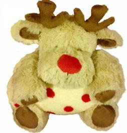 Plush Reindeer Toy & Plush Baby Blanket Toddler Set