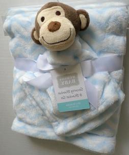 Hudson Baby Plush Security Blanket Set, Monkey by Hudson Bab
