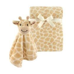 Hudson Baby Plush and Security Blanket Set, Giraffe, One Siz