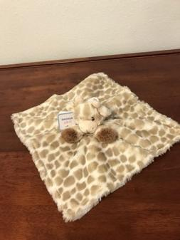 AURORA Baby Plush Soft Gigi Giraffe Rattle Security Blanket