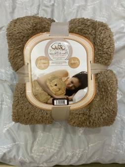 Plush Teddy Bear & Blanket 2 Piece Gift Set 50in X 60in Boy