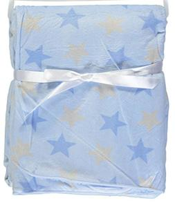 Honey Baby Plush Ultra Soft Coral Fleece Baby Blanket, 30 X