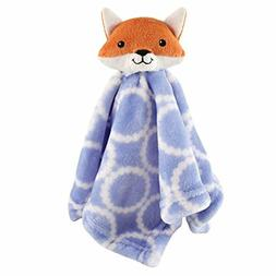 Hudson Baby Plush Velboa Security Blanket, Fox
