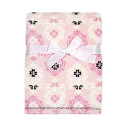 "4SGM 32338 30"" x 40"" Pink Blanket Wdamask Print, One Size, M"