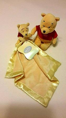 pooh bear security blanket nwt and disney