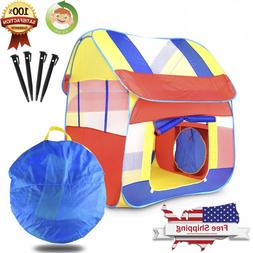 Portable Kid Baby Play House Indoor Outdoor Toy Tent Game Pl