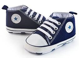 Itaar Prewalker Infant Sweet Canvas Sneaker Anti-skid Soft S