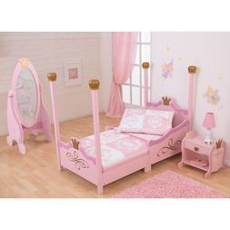 KidKraft Princess Toddler Bed - Pink - 76121