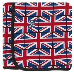 Kickee Pants Print Swaddling Blanket - Union Jack