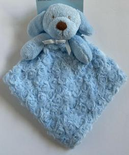 Blankets and Beyond Puppy Dog Blue Rosette Security Baby Bla