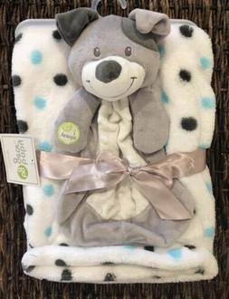 Baby Gear Puppy Dog Gray Security Blanket Baby Blanket Lovey