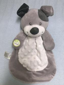 Baby Gear Puppy Dog Gray White Security Baby Blanket Lovie L