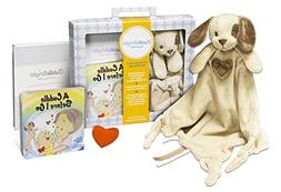 CuddleBright Experience Puppy Lovie Kit, Includes Security B