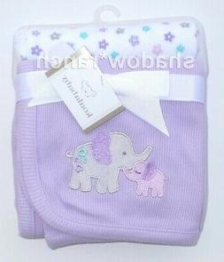 Koala Baby Purple Elephant 2 Pack Thermal Blanket