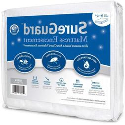 Queen  SureGuard Mattress Encasement - 100% Waterproof, Bed