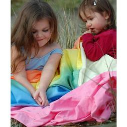 Sarah's Silks Rainbow Baby Blanket
