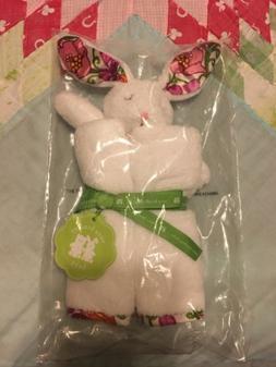 Vera Bradley Rare Lilli Bell Lovey Bunny Security Blanket Ba