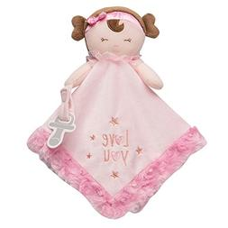 Baby Starters Doll Snuggle Buddy with Paci Holder, Pink