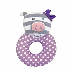 Organic Farm Buddies Rattle, Penny the Piggy Color: Penny th