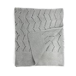 "effe bebe Ravelry Knitted Baby Blanket 30""x40"""